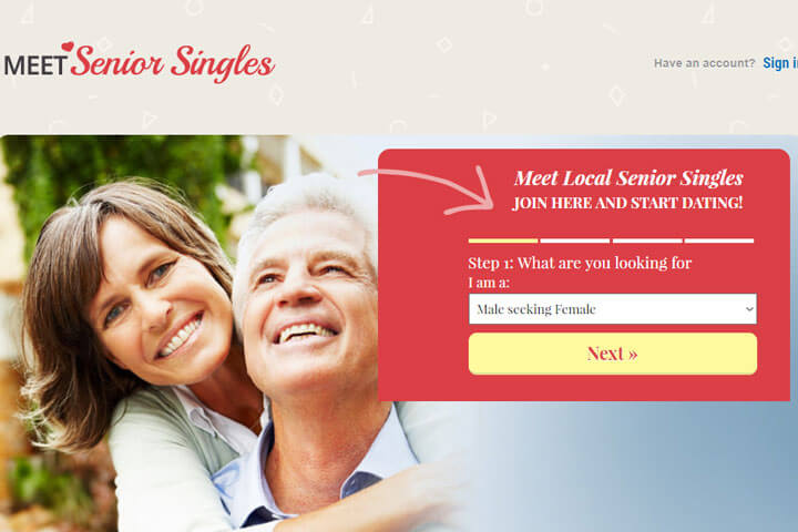 meet senior singles homepage