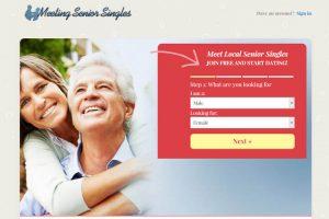 Meeting Senior Singles homepage