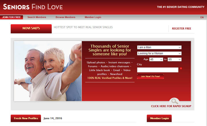 senior find love review