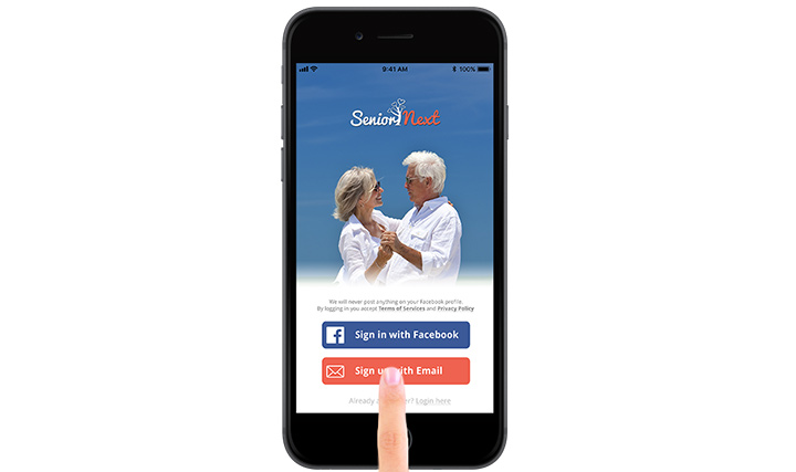 Christian Senior Next smart phone app